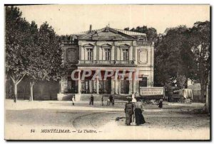Postcard Old Theater Montelimar Demenagements Bouveron