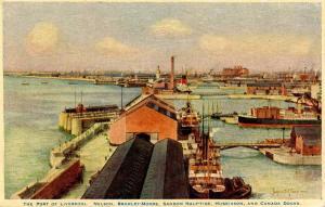 UK - England. Port of Liverpool Docks     *Artist: James S Mann