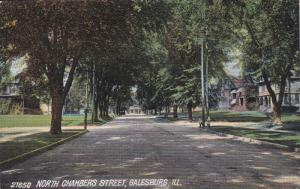 GALESBURG, Illinois; North Chambers Street, 00-10s