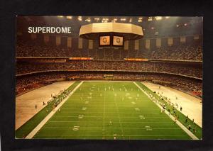 LA Superdome Football Stadium New Orleans LOUISIANA Postcard Carte Postale