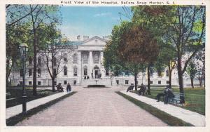 STATEN ISLAND, New York , 1900-10s; View of the Hospital, Sailors Snug Harbor