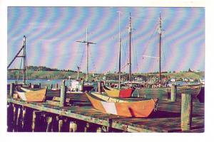 Waterfront Scene, Lunenburg, Nova Scotia, Photo Keith Young