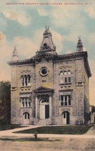 SCHOHARIE, New York, PU-1912; Schoharie County Court House