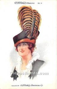 Advertising Postcard - Old Vintage Antique Fitzall Fashions Unused