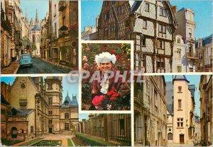 Postcard Modern Angers Maine et Loire La Cite Les Tours of the Cathedral view...