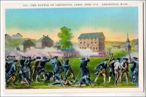 Battle of Lexington MA