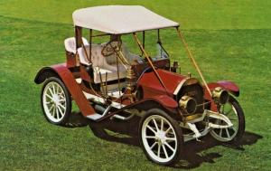1909 Hudson Roadster Automobilorama Gene Zimmerman Glidden Tours Postcard D31