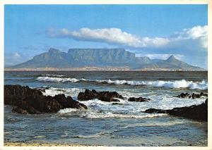 South Africa, Cape Town, Table Mountain from Blouberg Strand