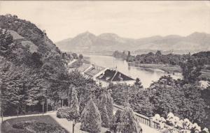 GERMANY, 1900-1910's; Rhein, Rolandseck