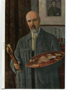 154615 Self-Portrait Juon YUON Russian Painter Old color PC