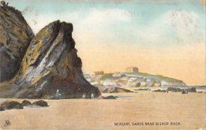 uk23591 sands near bishop rocks newquay uk