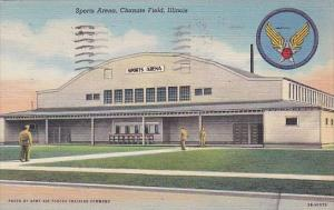 Illinois Chanute Field Sports Arena 1947