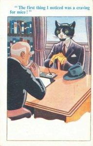 Comic Postcard Garland, Rudolf & Co. W110, Seaside Joke, Humour KJ9