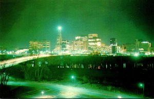 Connecticut Hartford Downtown View Looking Across The Connecticut River At Su...