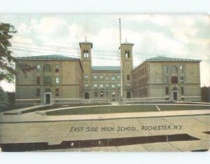 Divided-Back HIGH SCHOOL SCENE Rochester New York NY E2509