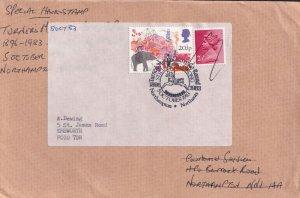 Rowell Lions Circus Northampton Cover