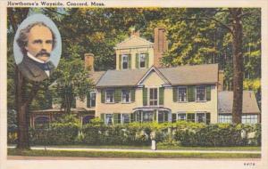Massachusetts Concord Wayside Hawthorne's Ressidence