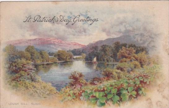 Saint Patrick's Day Landscape Scene Lough Gill Sligo