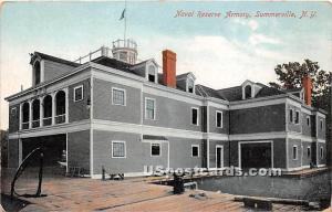 Naval Reserve Armory Summerville NY Unused