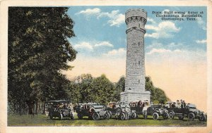 LP33  Chickamauga Chattanooga Tennessee Civil War Battlefield  Vintage Postcard