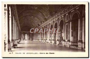 Old Postcard Versailles Palace Hall of Mirrors