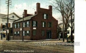 Birthplace of Lydia Maria Child Medford MA 1909