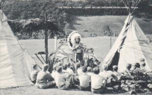 The Indian Village Camp Miller Shawnee-On-Delaware Pennsylvania