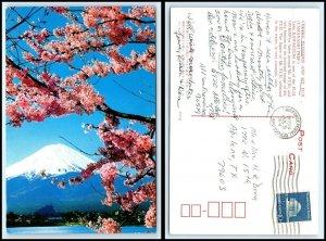 JAPAN Postcard - Mt. Fuji & Lake Kawaguchi AU