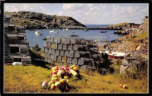 One of Maine's most secluded harbors Maine, USA Lobster 1988
