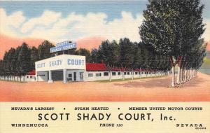 7667  NV   Winnemucca   Scott Shady Court Motel
