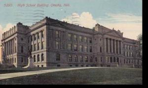 Nebraska Omaha High School Building