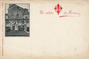 Unsaluto da Firenze , Italy , 1890s