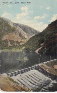 Power Dam, Ogden Canyon, OGDEN, Utah, PU-1912