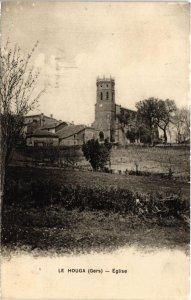 CPA Le Houga - Église (108146)