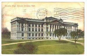 Omaha High School, Omaha, Nebraska, 1908