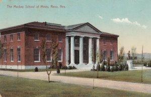 RENO , Nevada , 1909 ; Mackay School of Mines