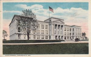 SPRINGFIELD, Missouri, PU-1917 ; State Normal
