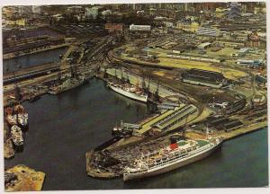Regina Del Mar - Southampton Docks - Post Card - Unused