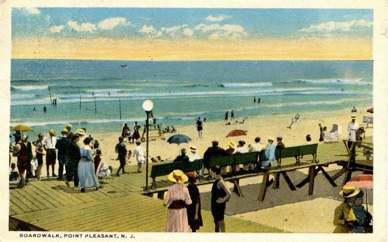 NJ - Point Pleasant. Boardwalk