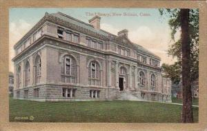 Connecticut New Britain The Library 1911