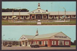 The Colonial Squire Motel,NY Postcard