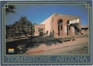 TOMBSTONE, ARIZONA, Bird Cage Theatre, unused Postcard