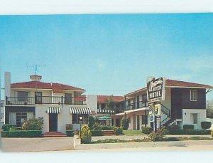 Pre-1980 MOTEL SCENE West Los Angeles California CA AD9157