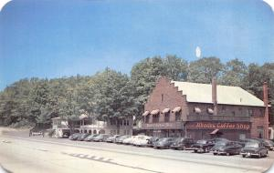 Scotrun Pennsylvania~Rhodes Hotel & Coffee Shop~Roadside Route 611~1940-50s Cars