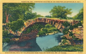 USA Republic of Panama King's Bridge built by the Spaniards 04.20