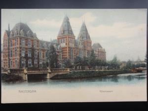 Netherlands AMSTERDAM Rijksmuseum - Old Postcard