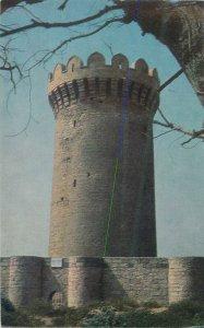 Postcard Azerbaijan BAKU Apsheron feudal castle Mardakyan