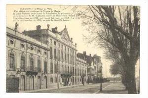 MACON, France, 00-10s  L'Hotel de Ville