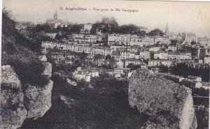 Angoulême , France , 00-10s ; Vue prise de Ma Campagne