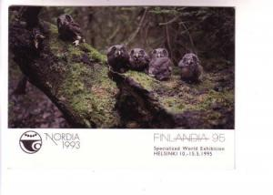 Baby Owls, Nordia 1993, World Exhibition, Finland